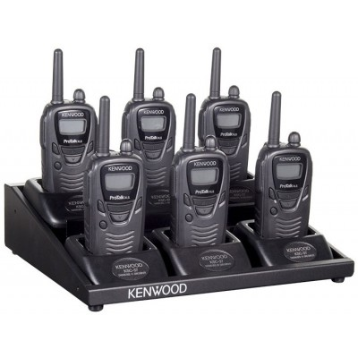 Kenwood TK-3230DX Two Way Radio Six Pack With Charging Platform