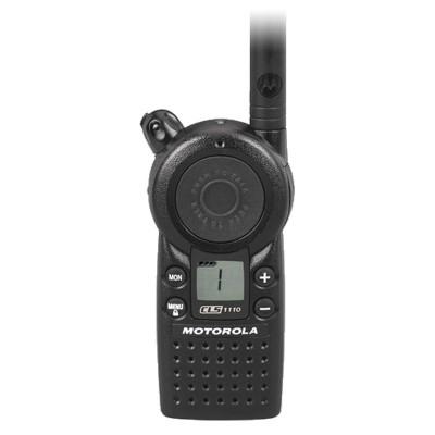 Motorola CLS1110 1 Channel UHF Two Way Radio