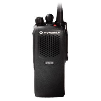 Motorola PR860 VHF or UHF Analog Two Way Radio